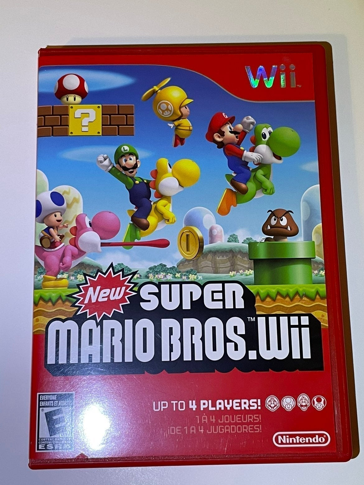 New Super Mario Bros. Wii on Nintendo Wi