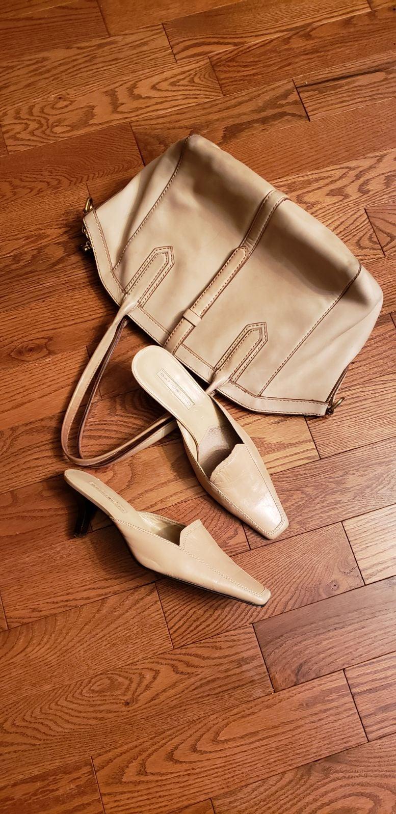 BANDOLINO womens shoes.  Mules Style.