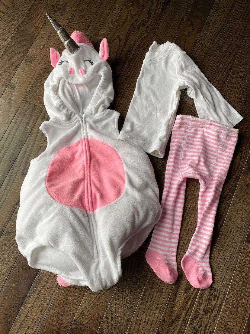 Baby unicorn halloween costume (6-9 mont