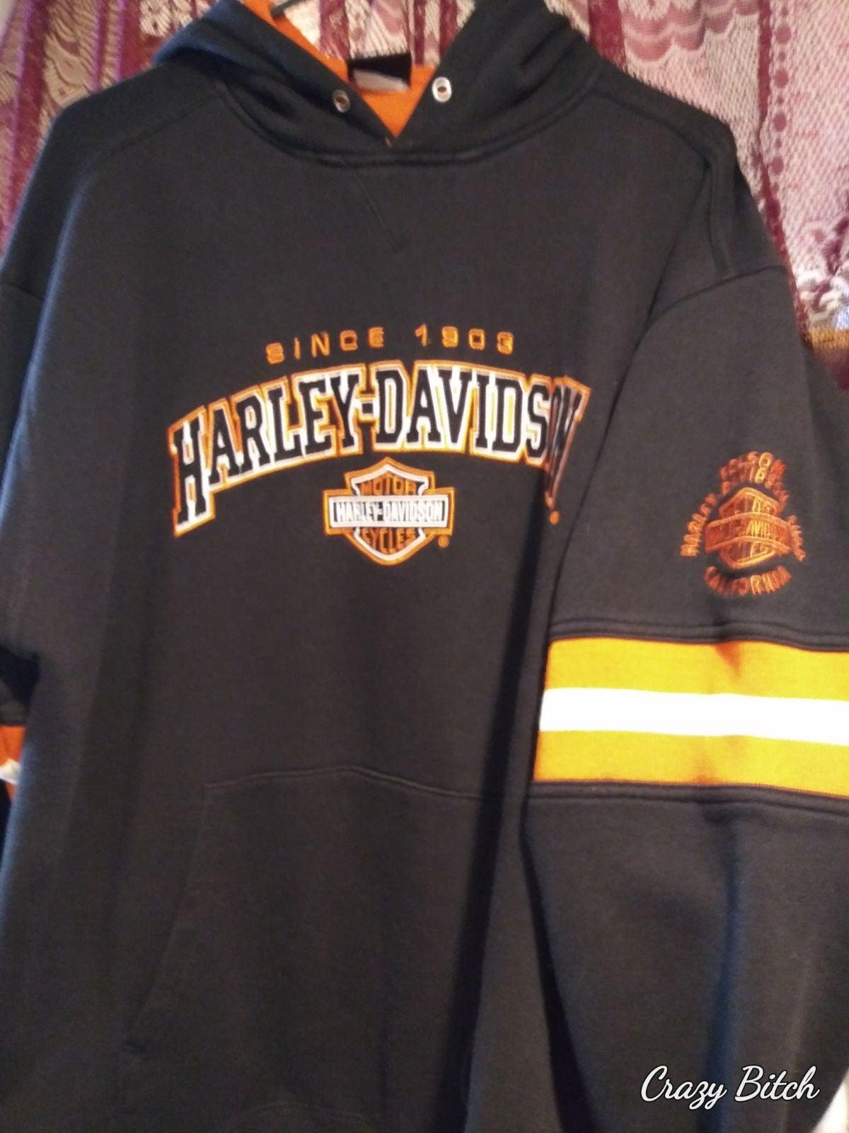 vintage Harley pullover