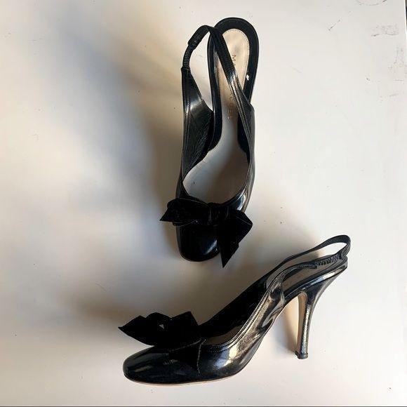 Marc Jacobs - patent leather slingbacks