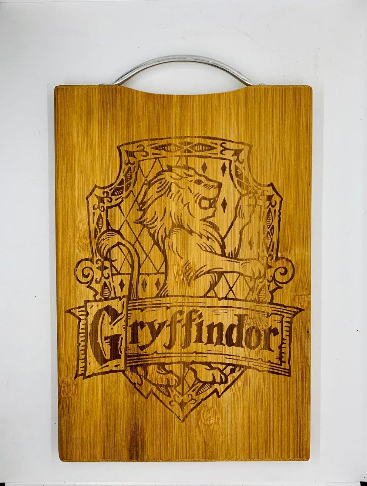 Harry potter gryffindor engraved board