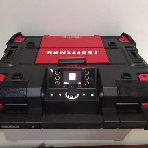 Craftsman Versa Stack Bluetooth Radio