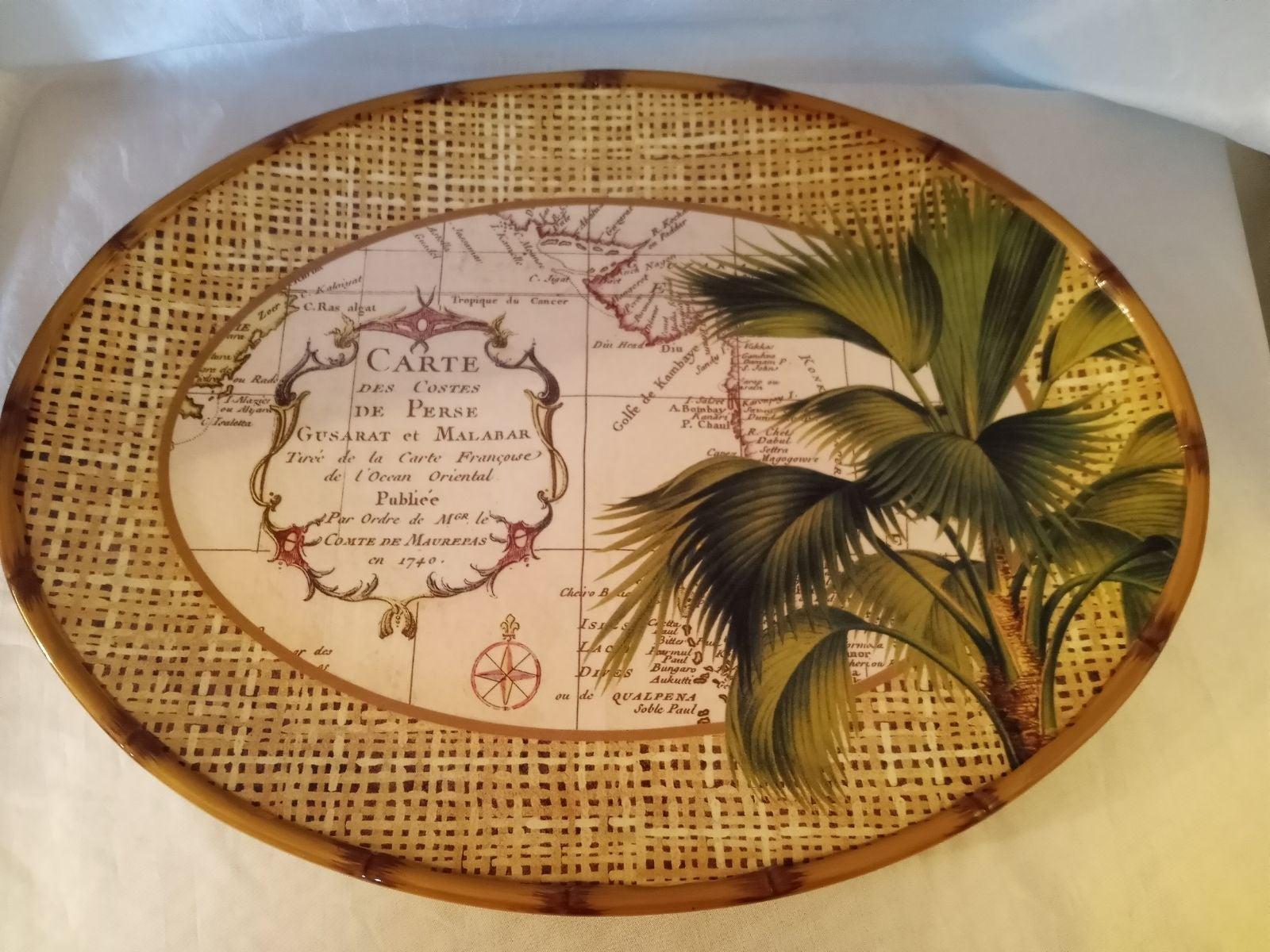 Vintage Large Serving Platter