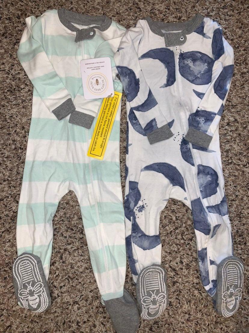 Burts Bees baby pajamas size 18 months
