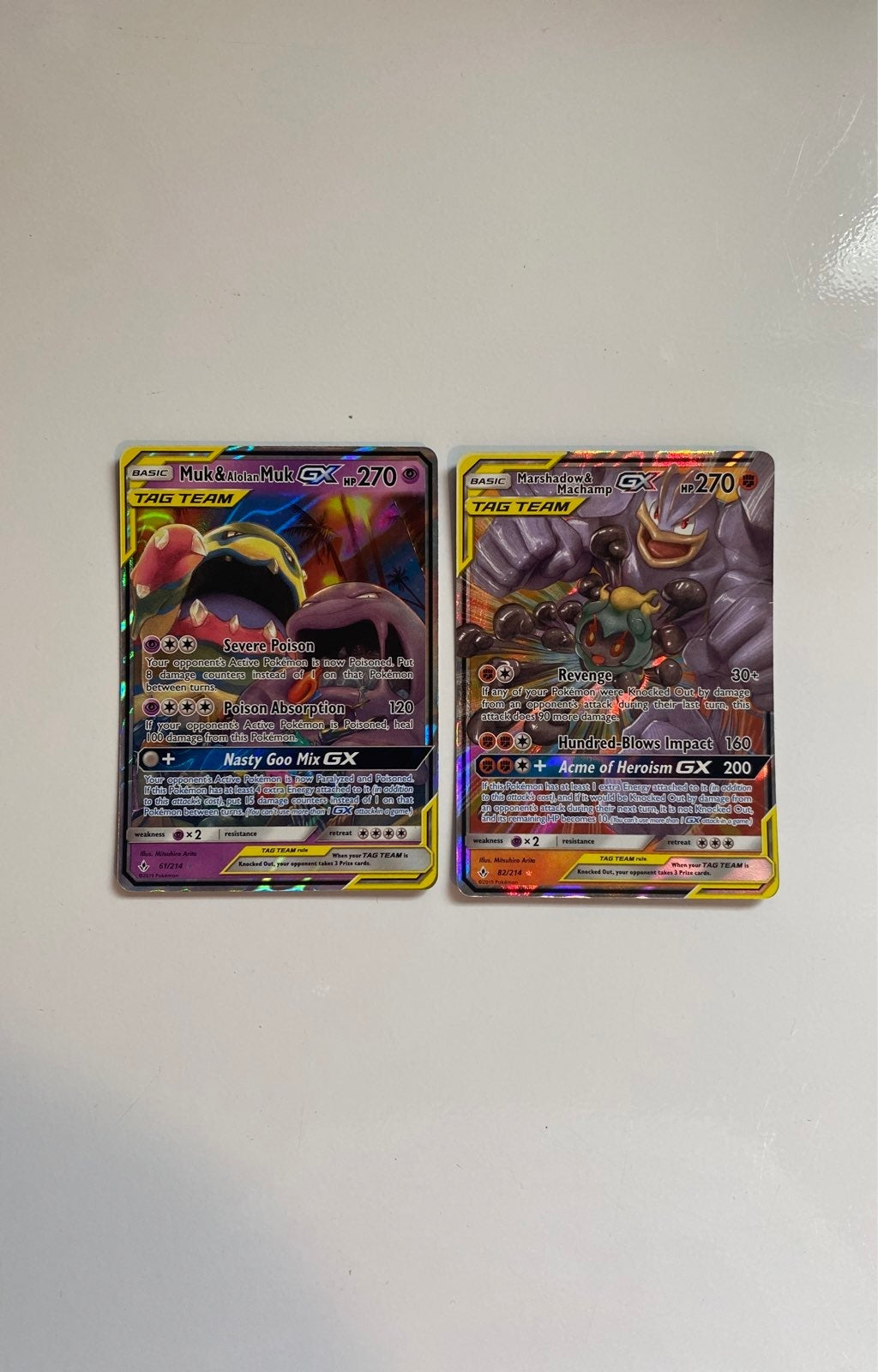 Tag Team GX lot! FREE GX CARD w purchase