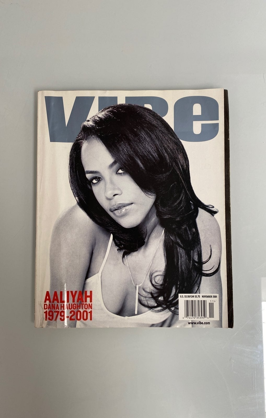 Aaliyah Vibe Magazine November 2001