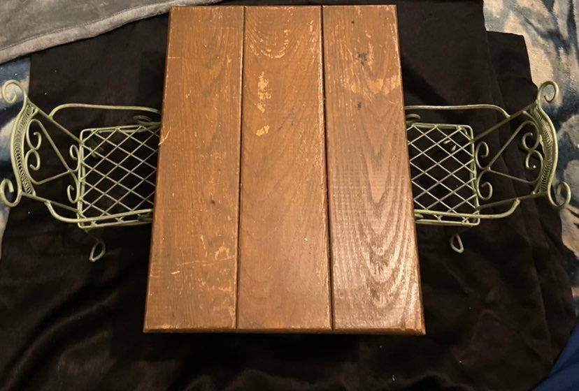 Solid wood doll table
