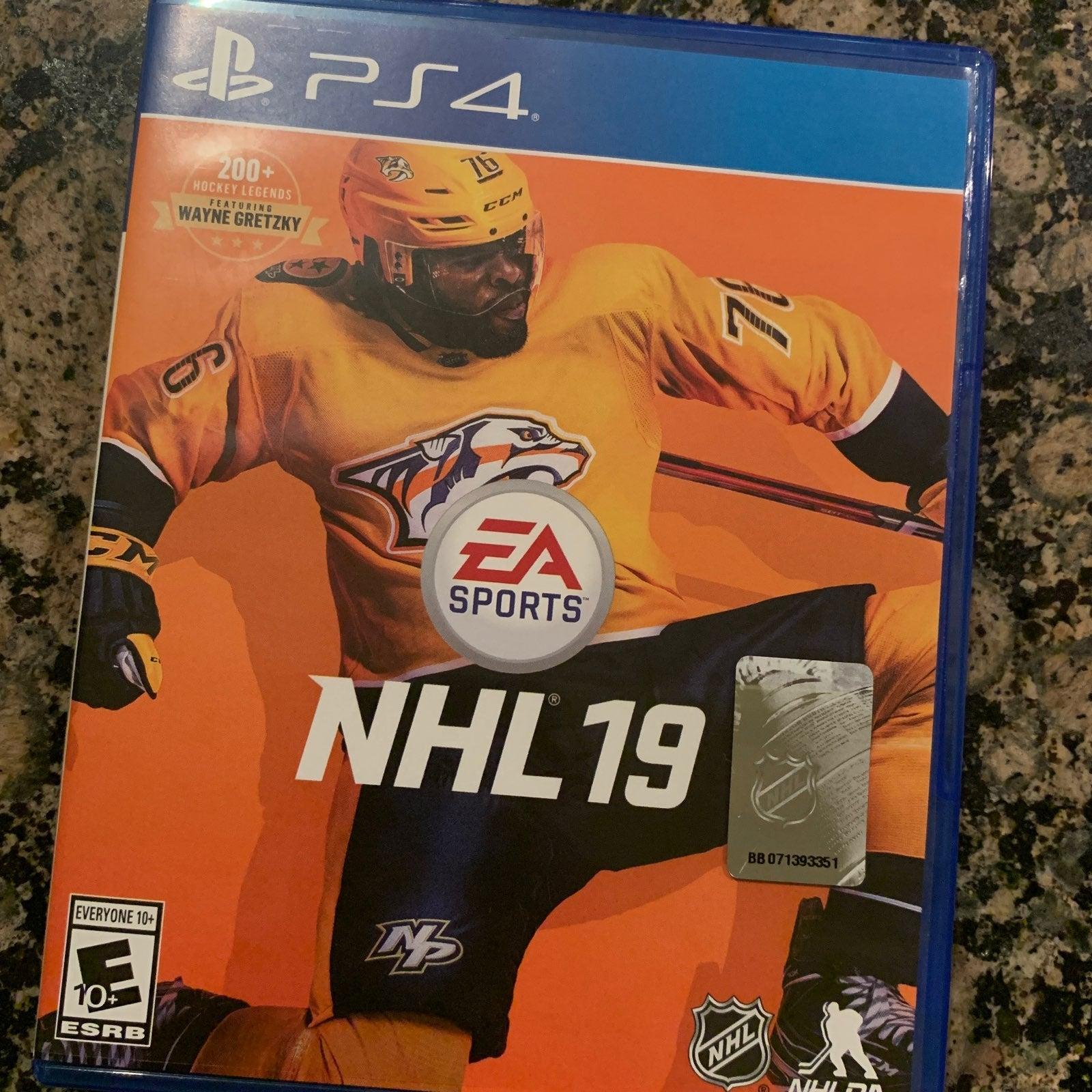 Ps4 NHL '19