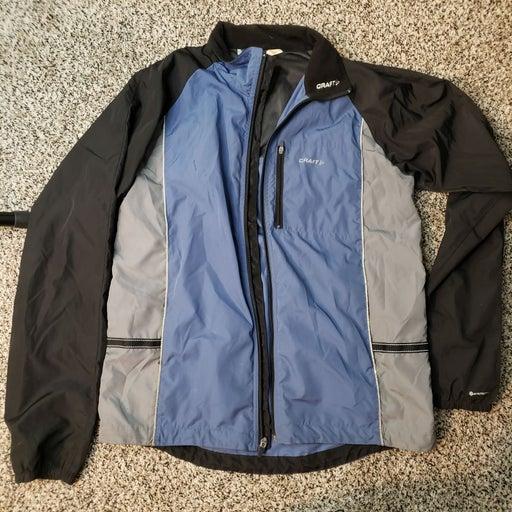 Craft light windbreaker rain jacket