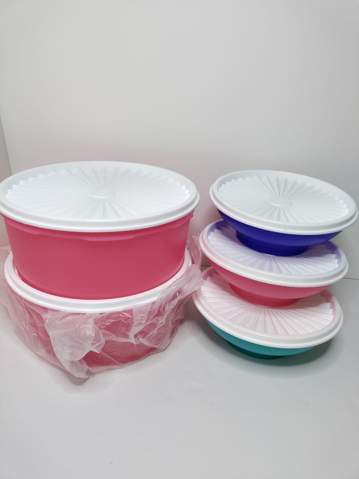 Tupperware Servalier Bowls