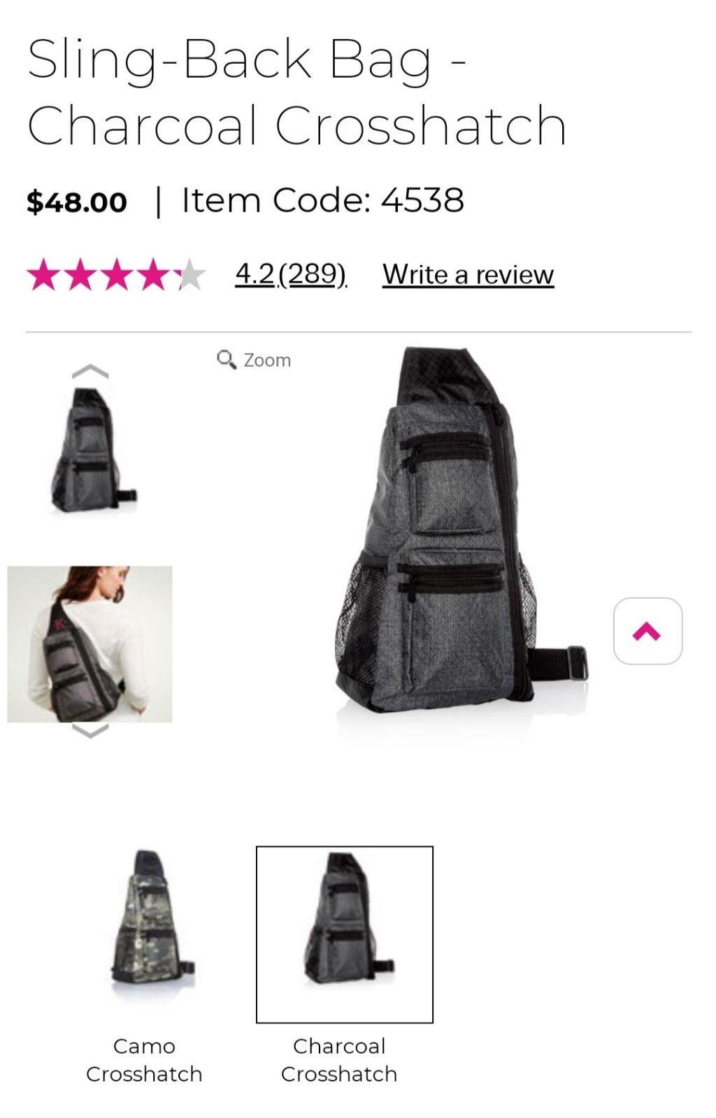 Thirty-one sling-back Bag