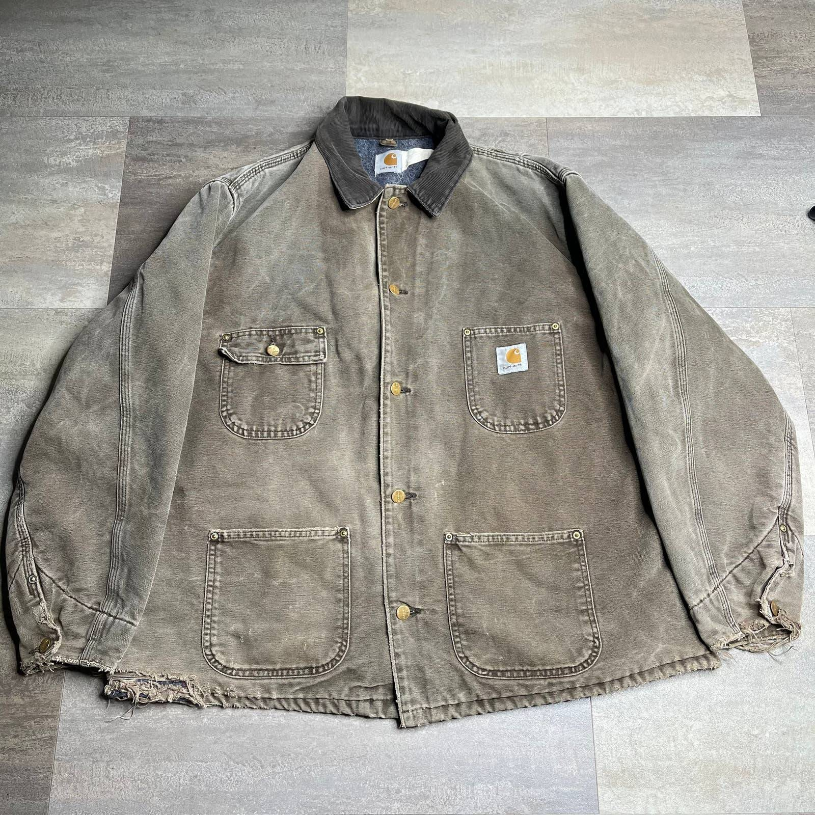 Carhartt VTG Button Blanket Jacket