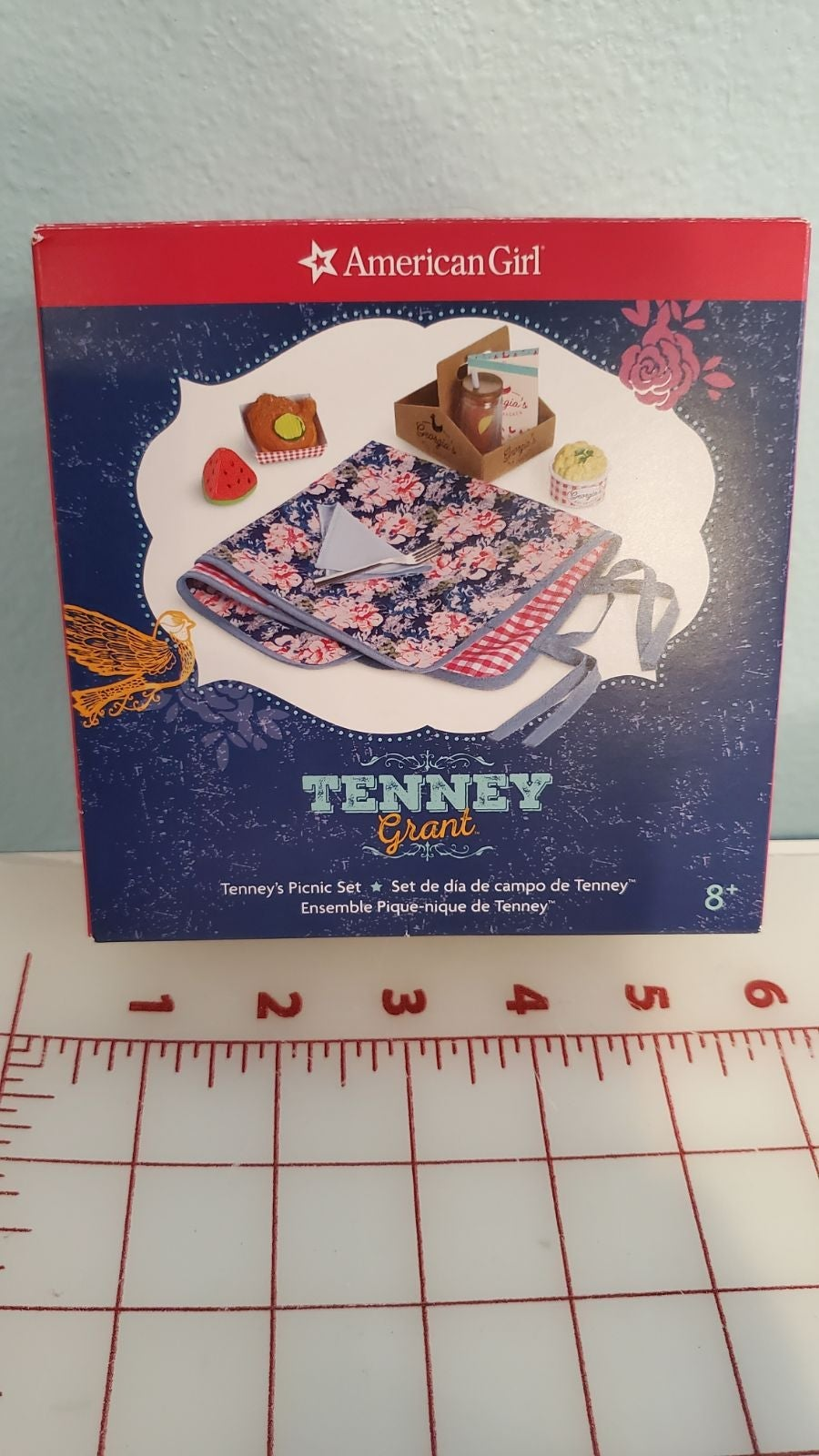 American Girl doll Tenney picnic set