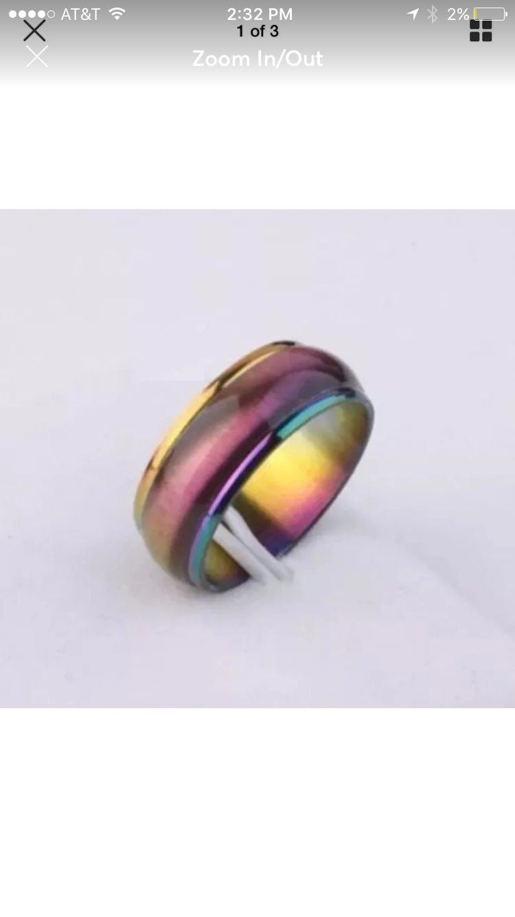 6mm Rainbow Ring