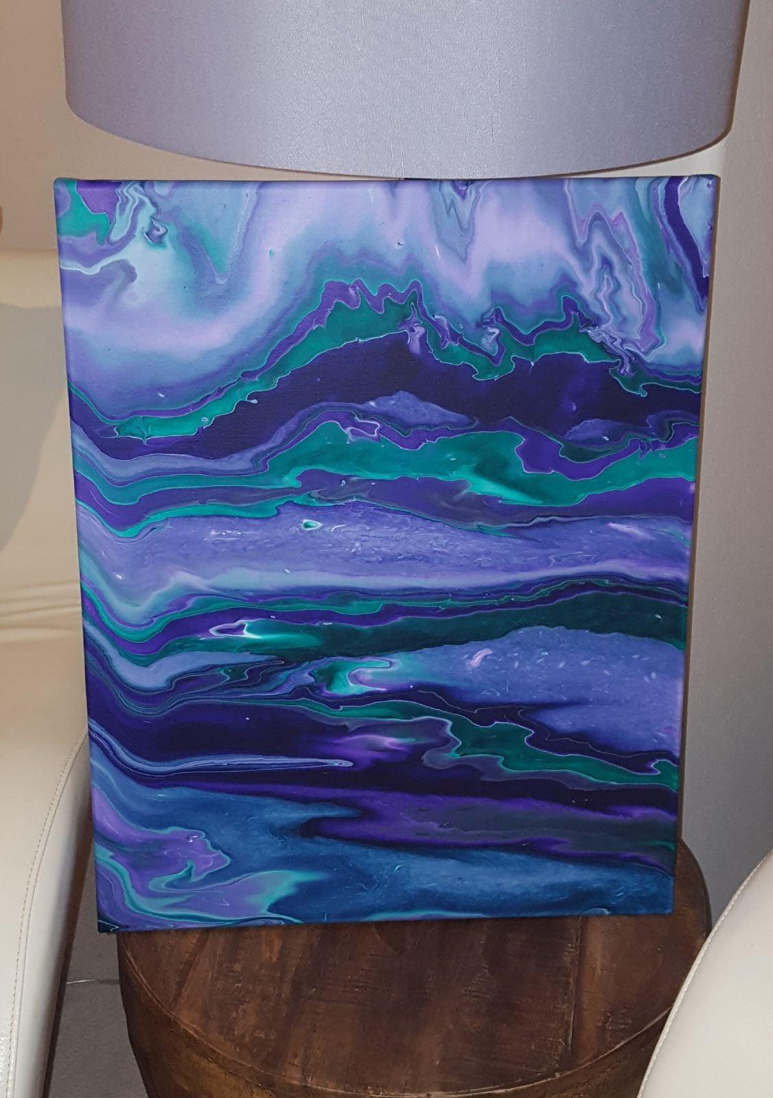 Original Painting - Acrylic Pour 16 X 20