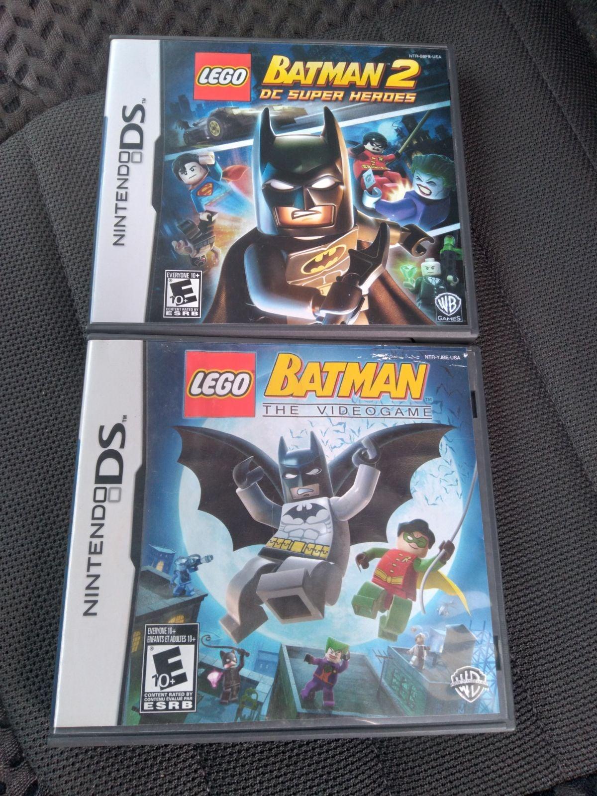 LEGO Batman 1 2: DC Super Heroes DS