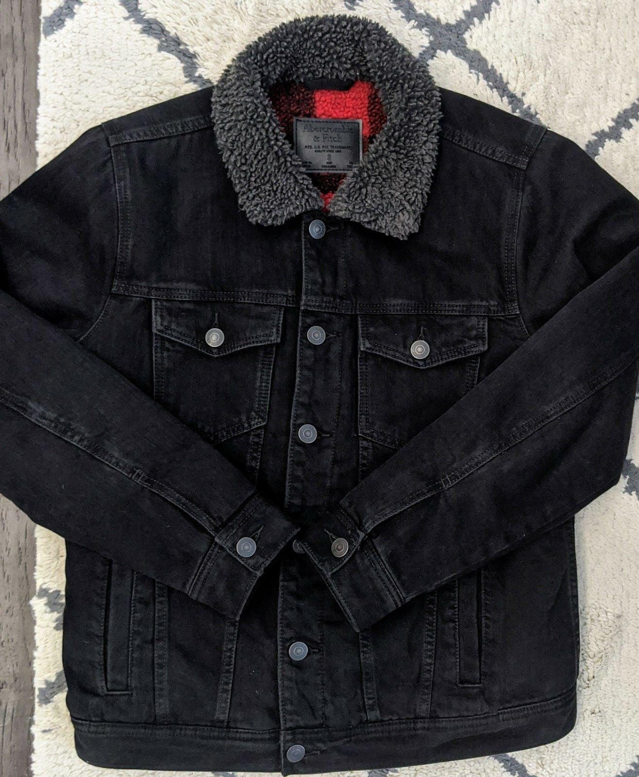 Abercrombie Sherpa Trucker Jacket