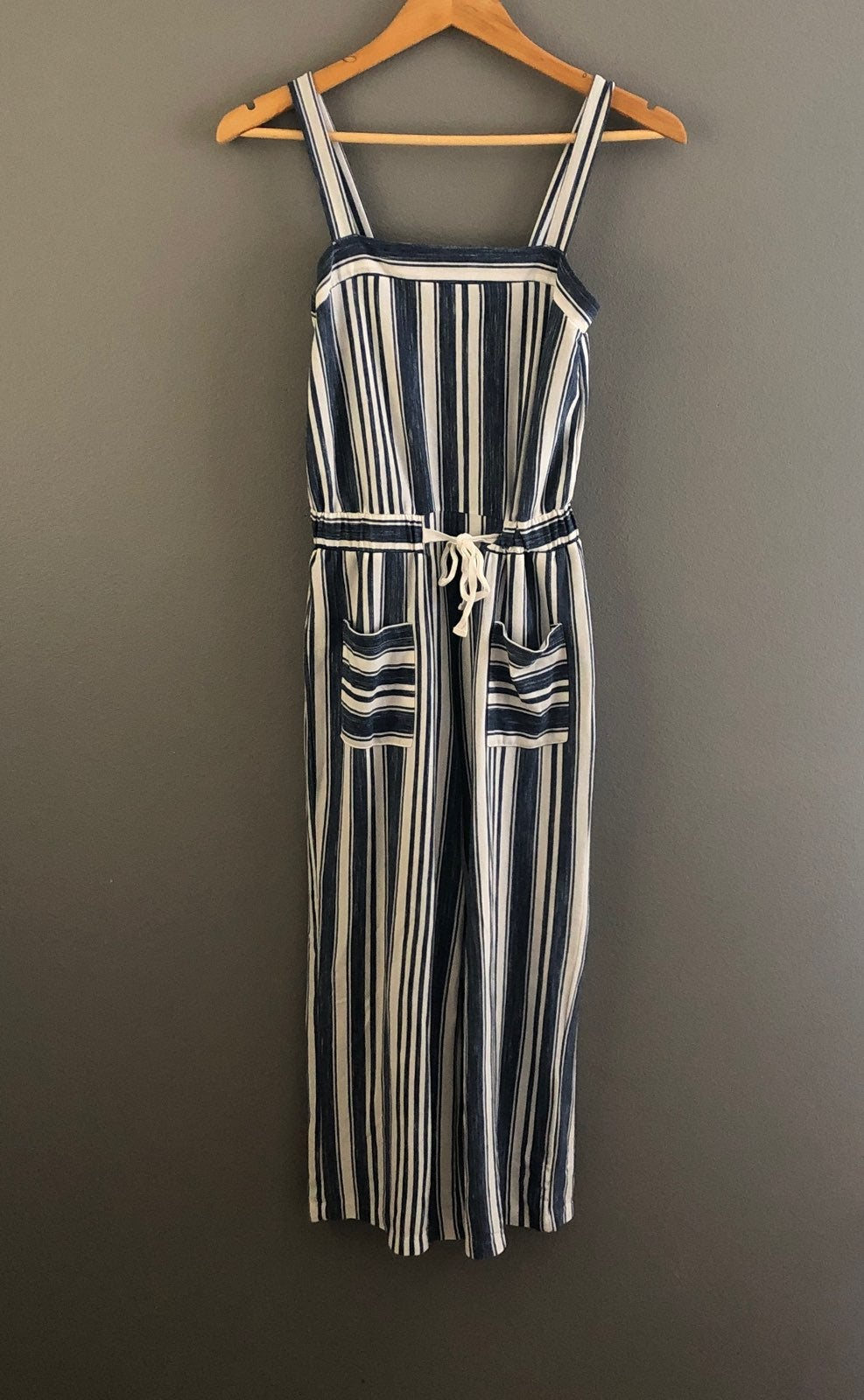 Copper Key Striped Jumpsuit XS