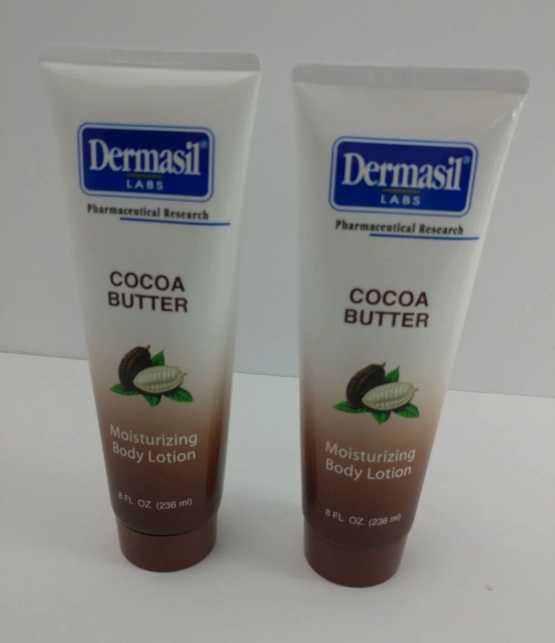 Lot of 2 Dermasil Labs Cocoa Butter Mois