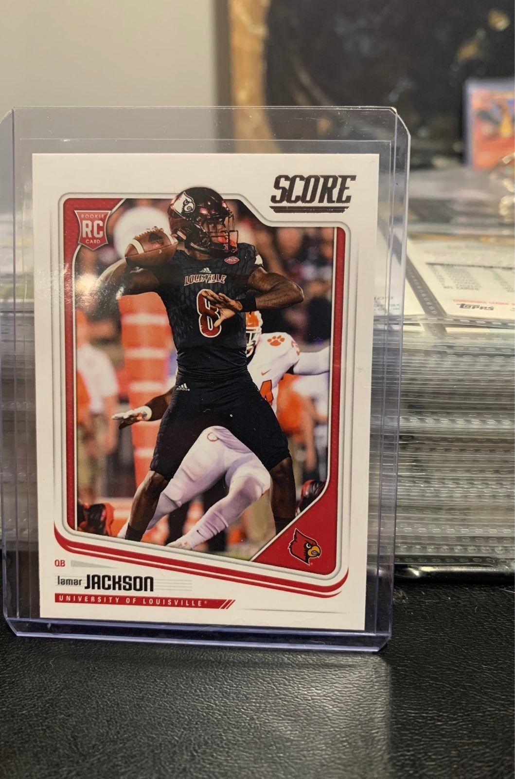Lamar Jackson GEM MINT 2018 louisiana