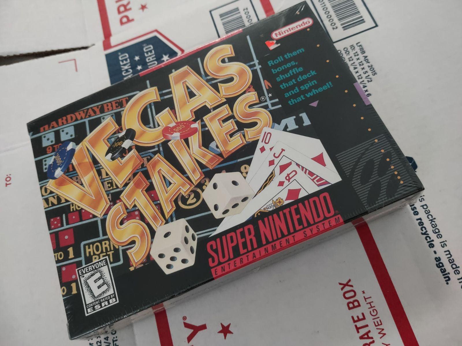 SNES Video game Vegas stakes