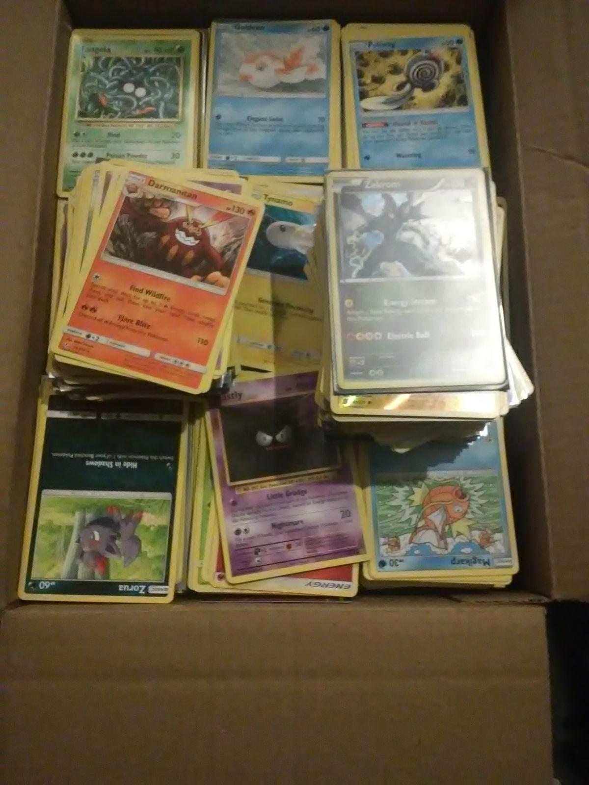 Around 4000 Pokemon cards
