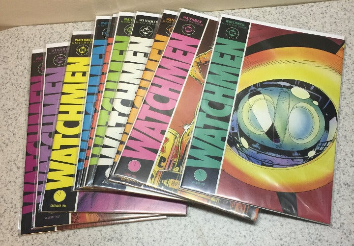 1986 DC COMICS VOL 1 WATCHMEN COMICS