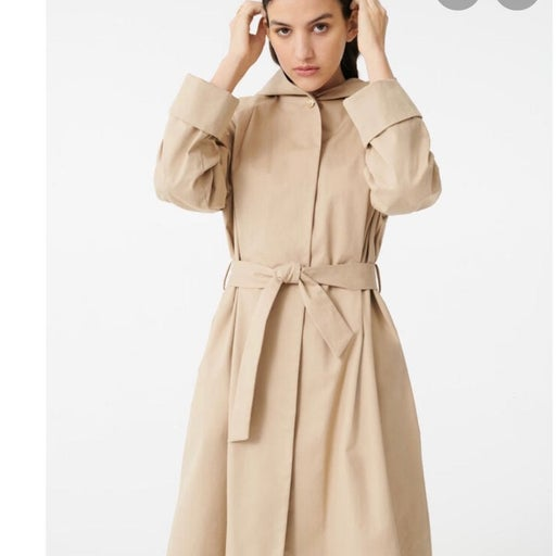NWT Maje Trench Avec Fronce Coat