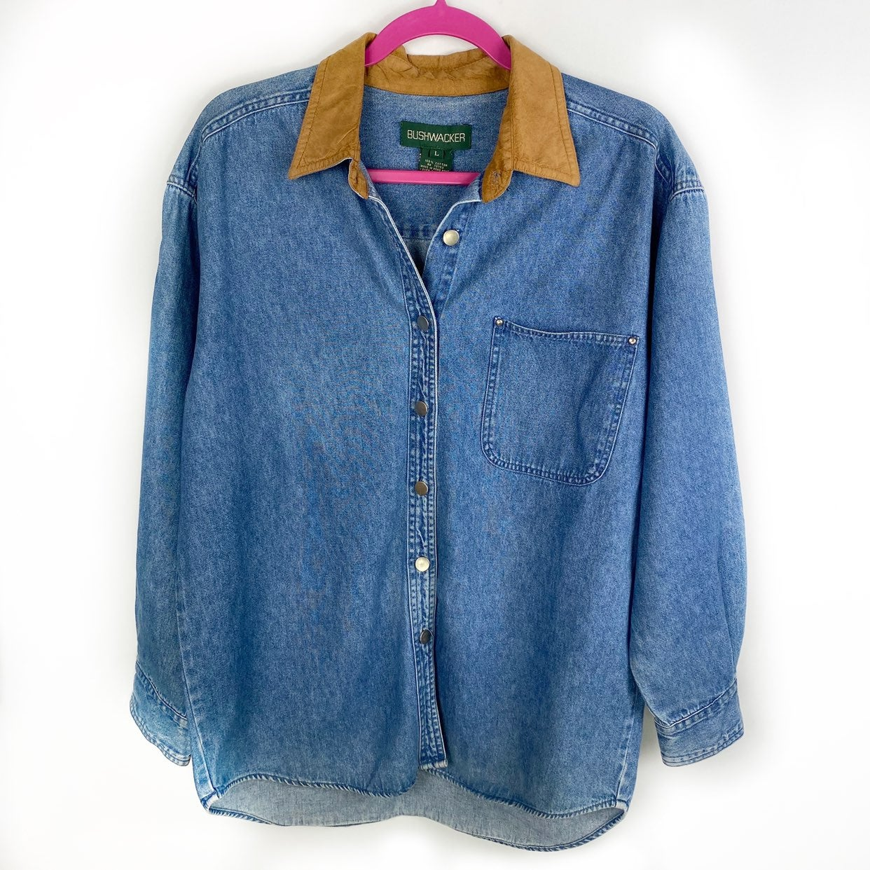 Bushwacker Vintage Oversized Denim Shirt