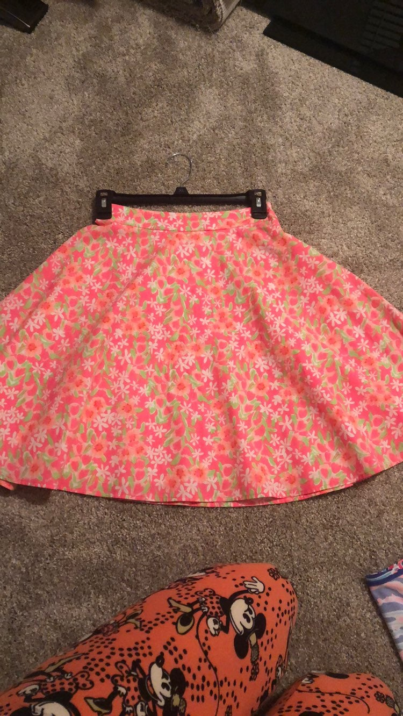 Lilly Pulitzer Circle Skirt