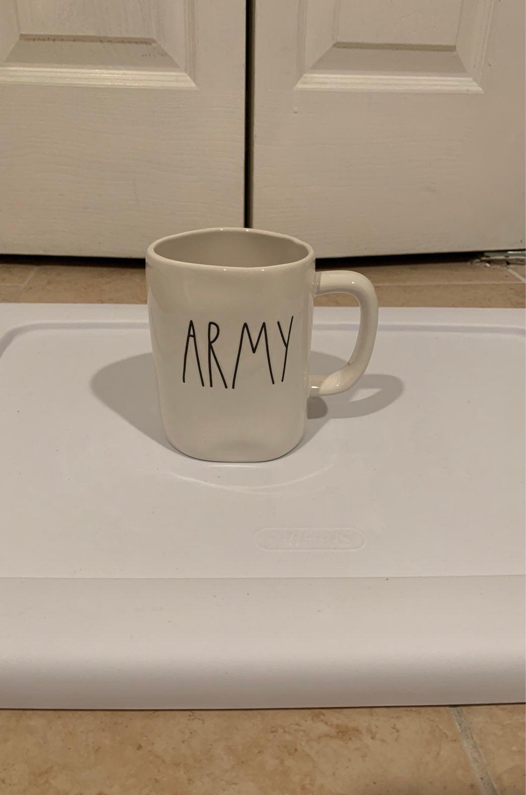 New Rae Dunn Army mug