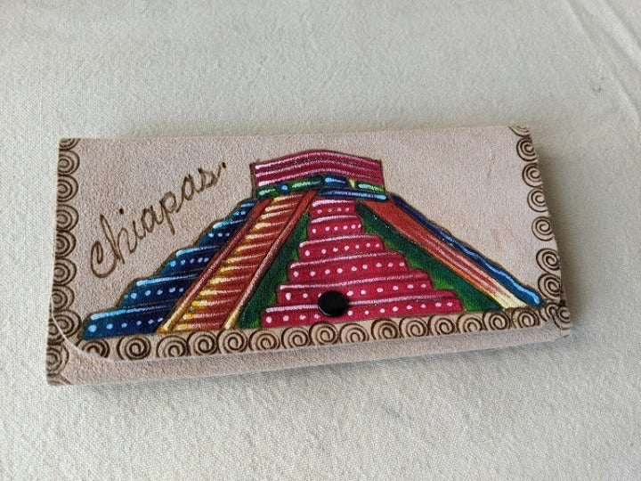 Mexican Matte Leather Wallet Handmade
