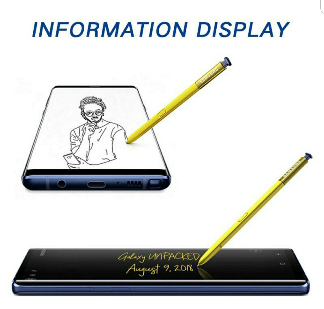 Bluetooth Stylus S pen for Note 9 yellow
