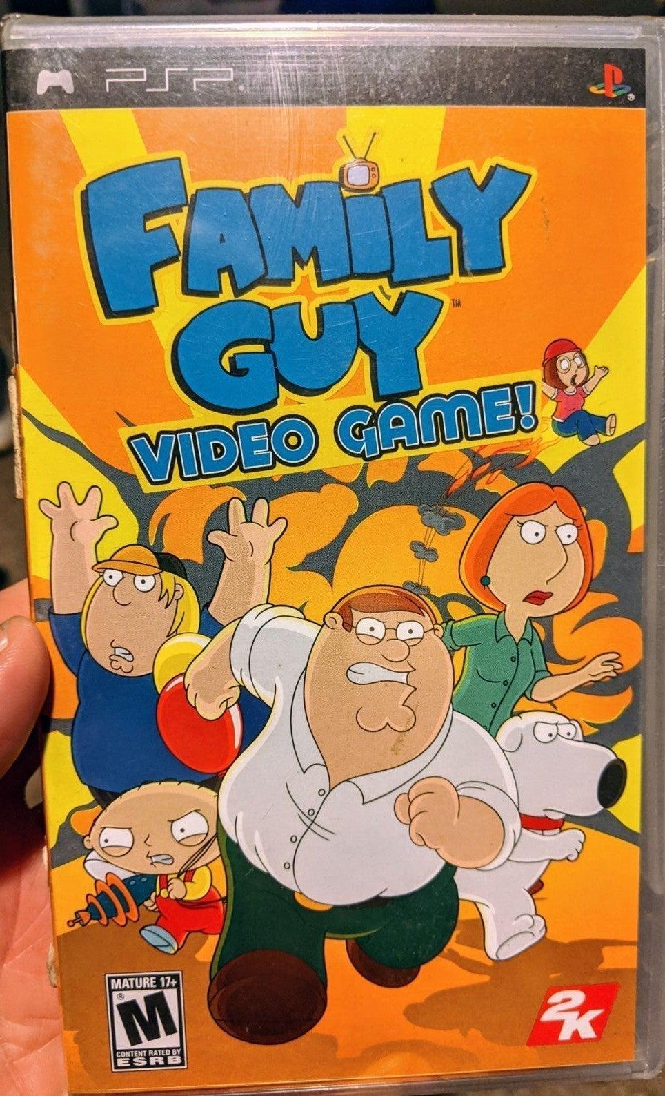 Family Guy - Brand New - PSP - Sealed
