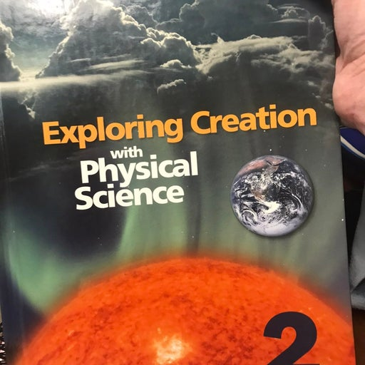 Exoloring Creation-Physical Science text