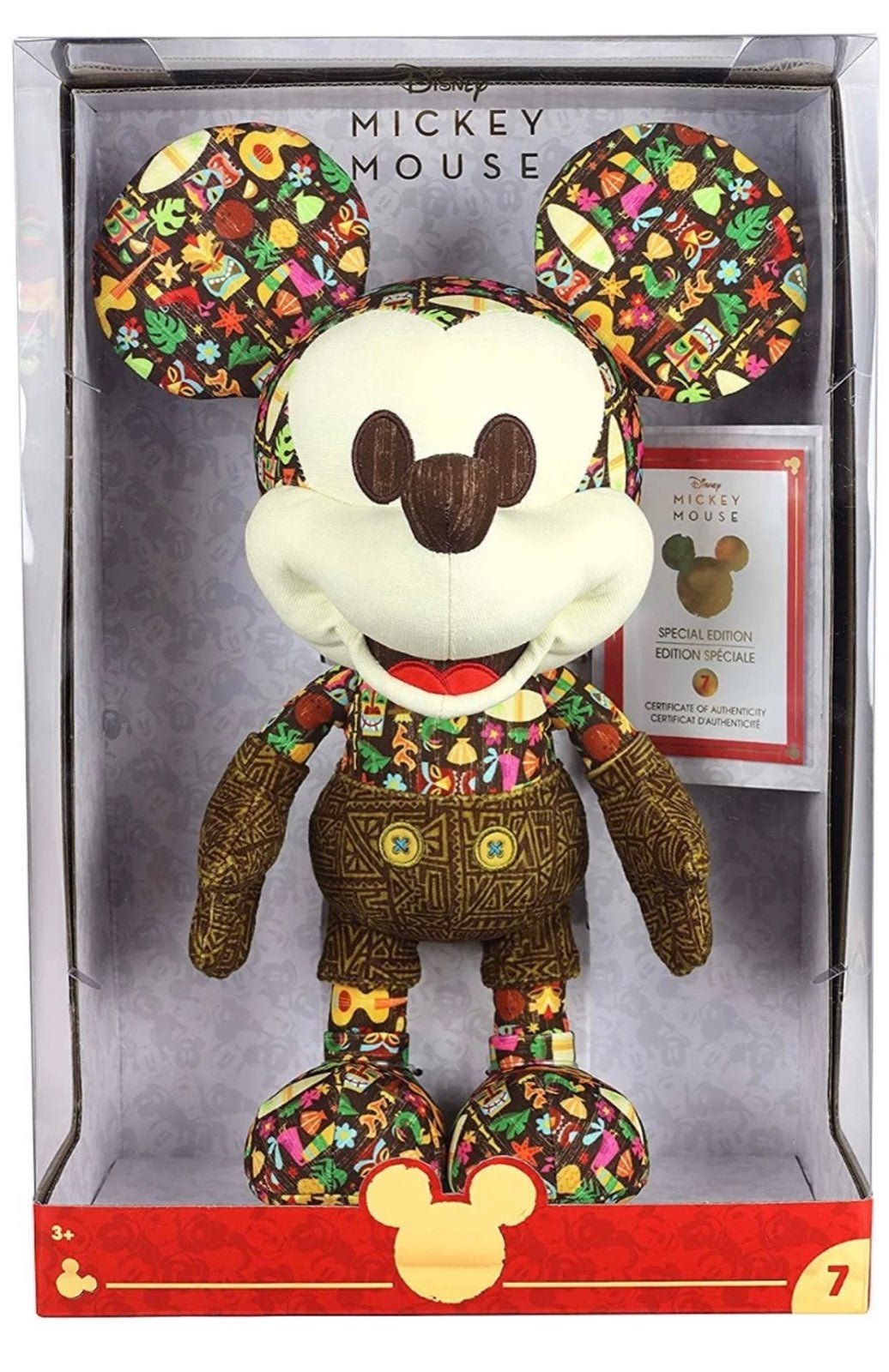 Disney Mickey Mouse Tiki Plush Limit Edi