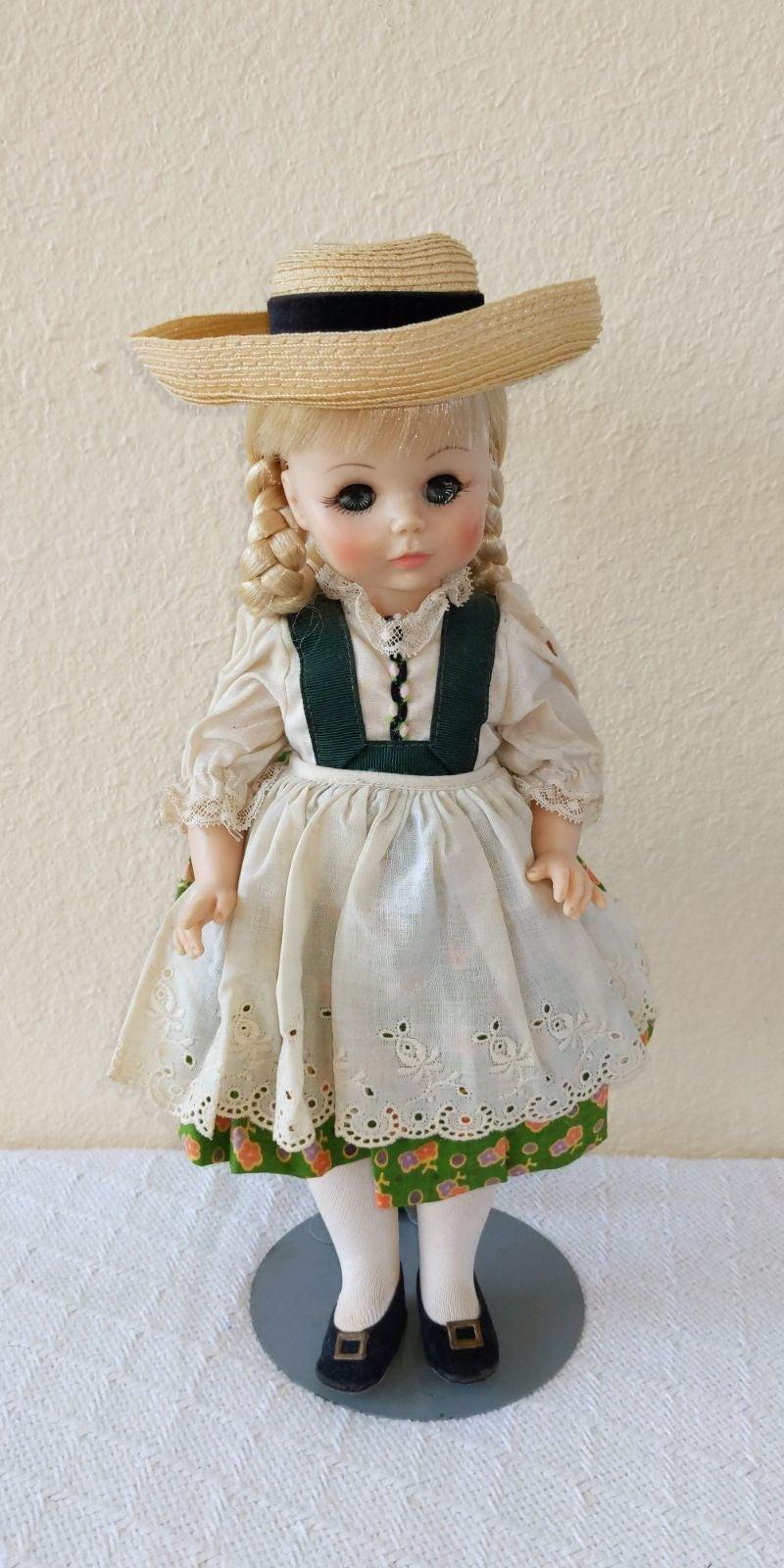 "Vintage Madame Alexander ""Heidi"" Doll"