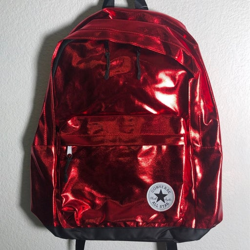 """Converse All Star Backpack """"Metalic Red"""""""