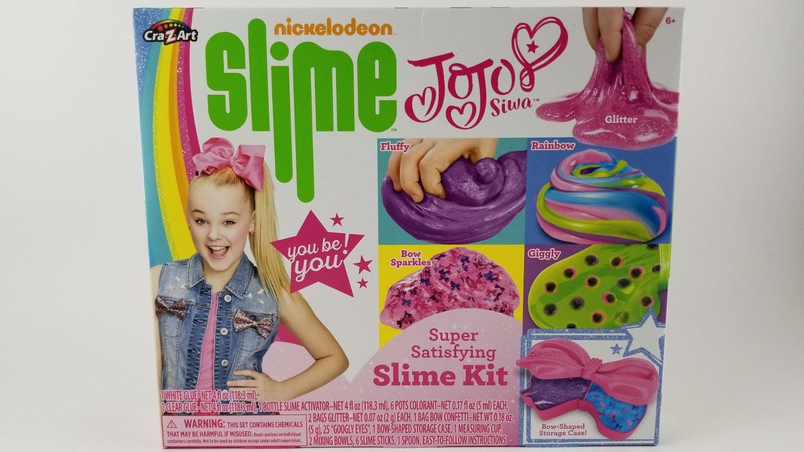 Nickelodeon Jojo Siwa Slime Kit