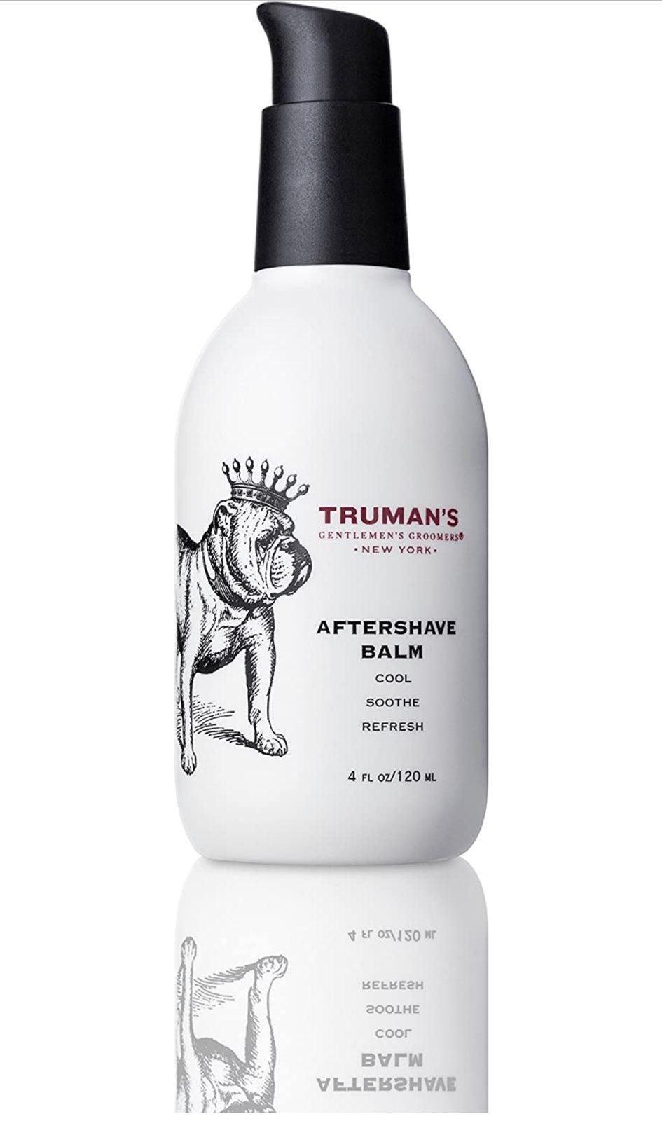 Truman's Men's Aftershave Balm 4 fl oz