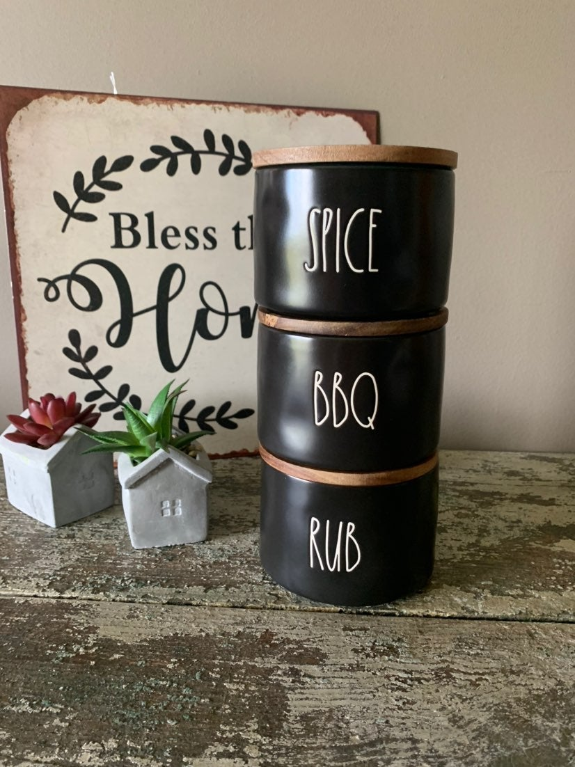 Rae Dunn SPICE RUB BBQ CELLARS New