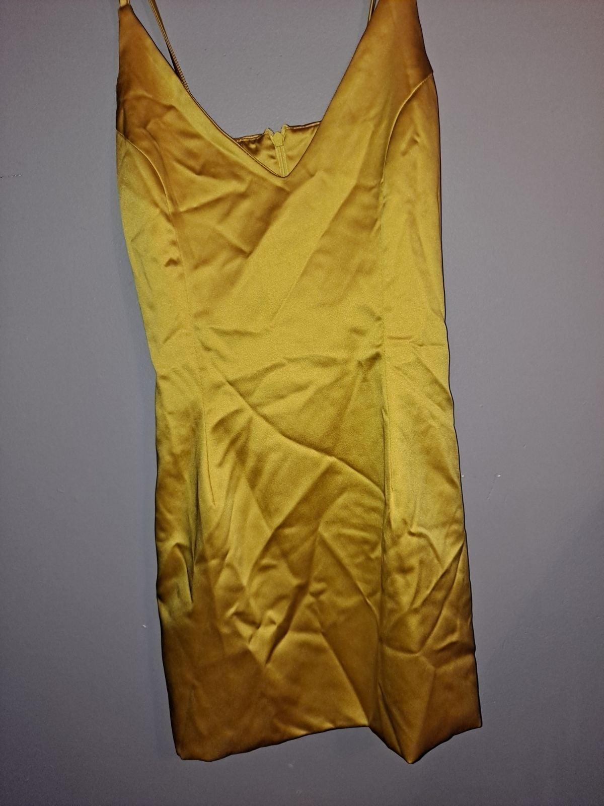 lauras Boutique Yellow Selena Dress