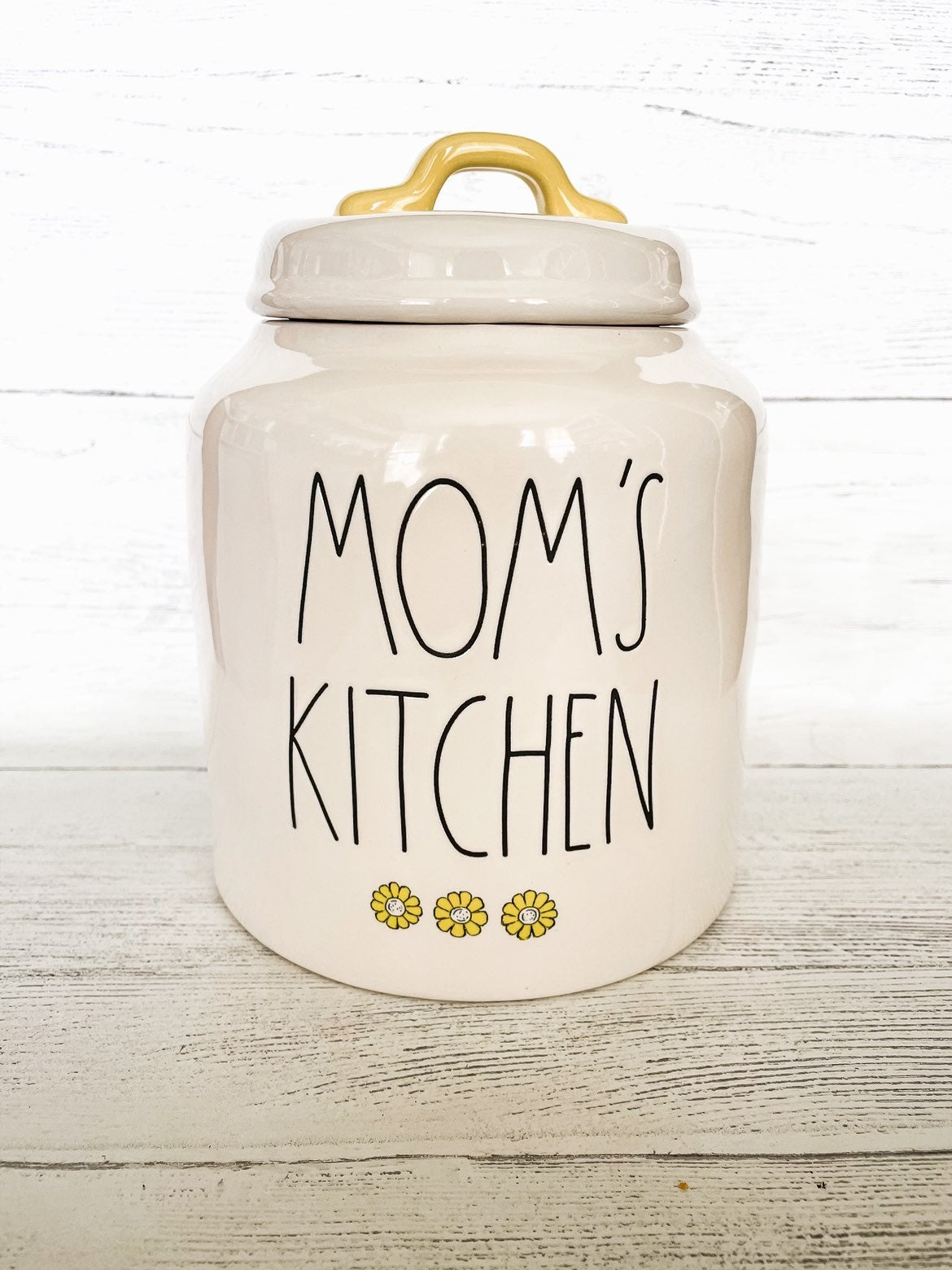 Rae Dunn Mom's Kitchen Canister