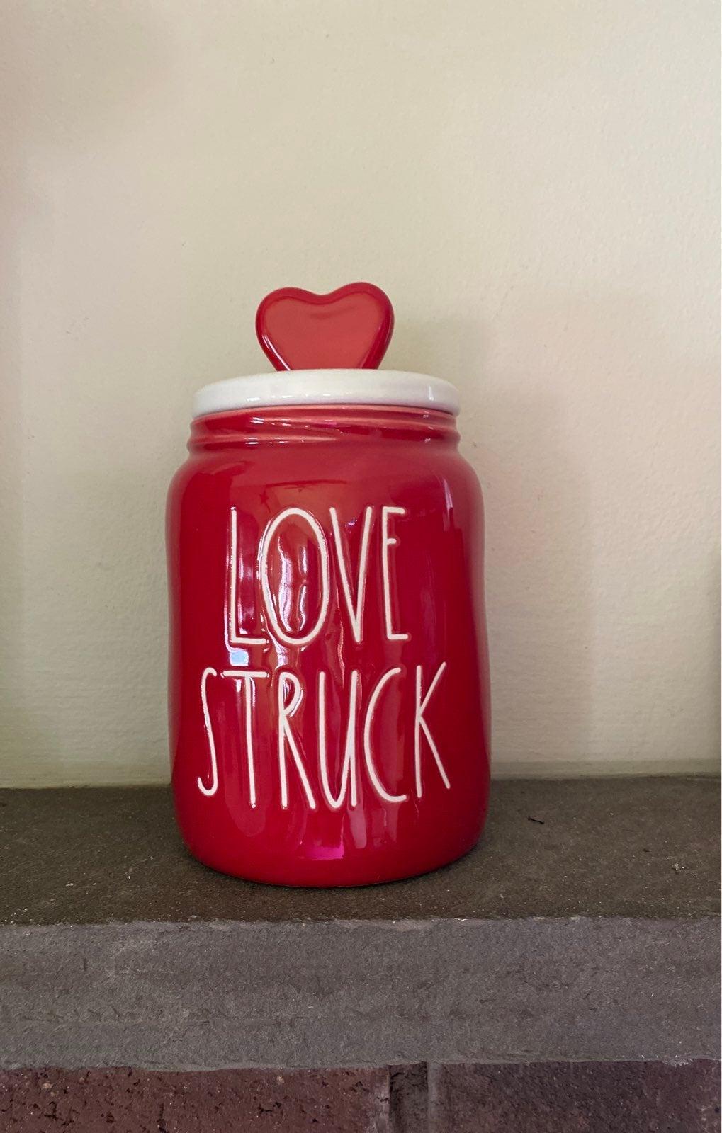 Rae Dunn love struck canister