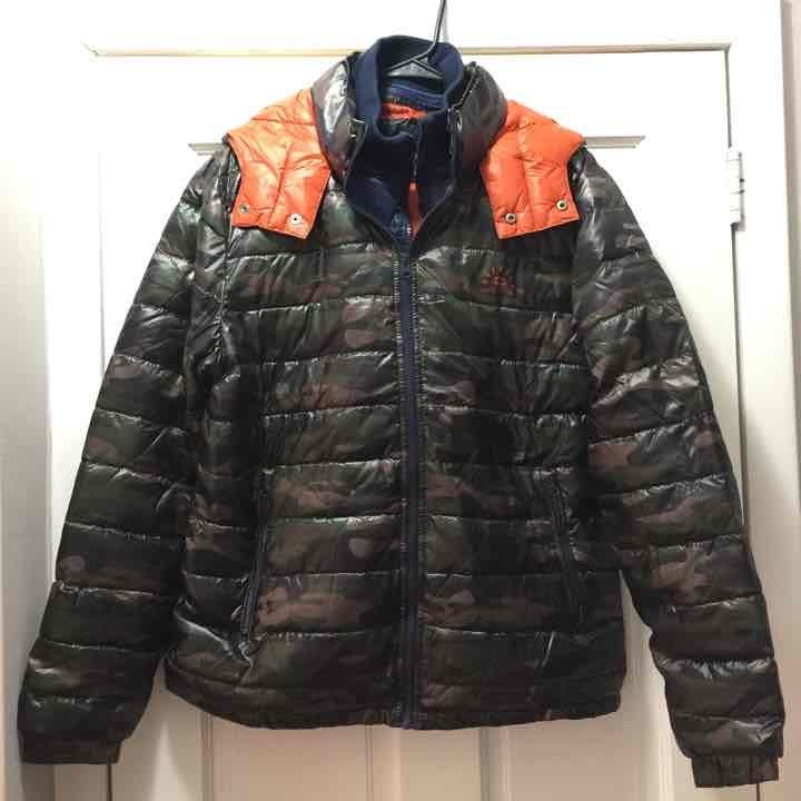 Buffalo David Bitton Puffer Down Jacket