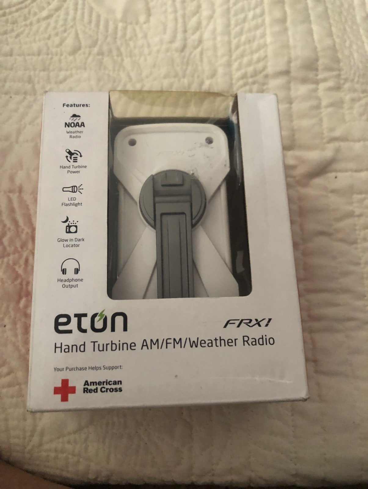 Brand new Eton hand turbine AM/FM weathe