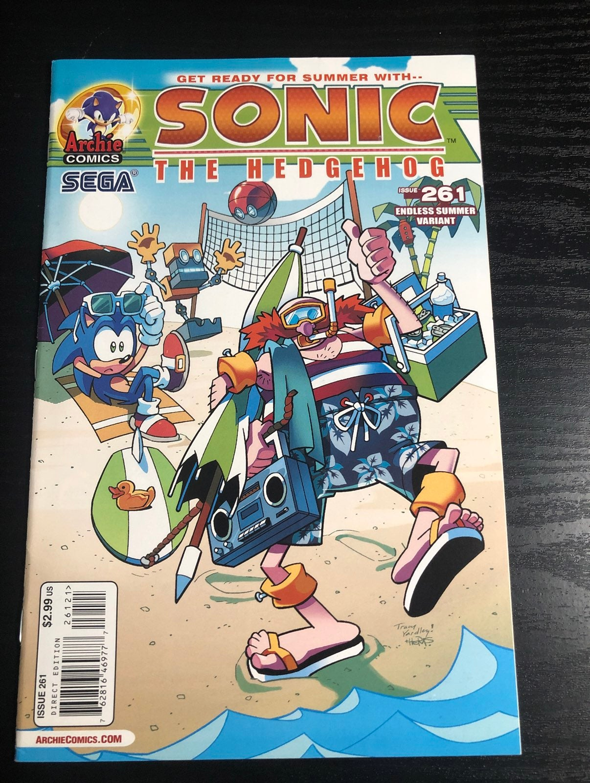 Sonic the Hedgehog comic issue 261