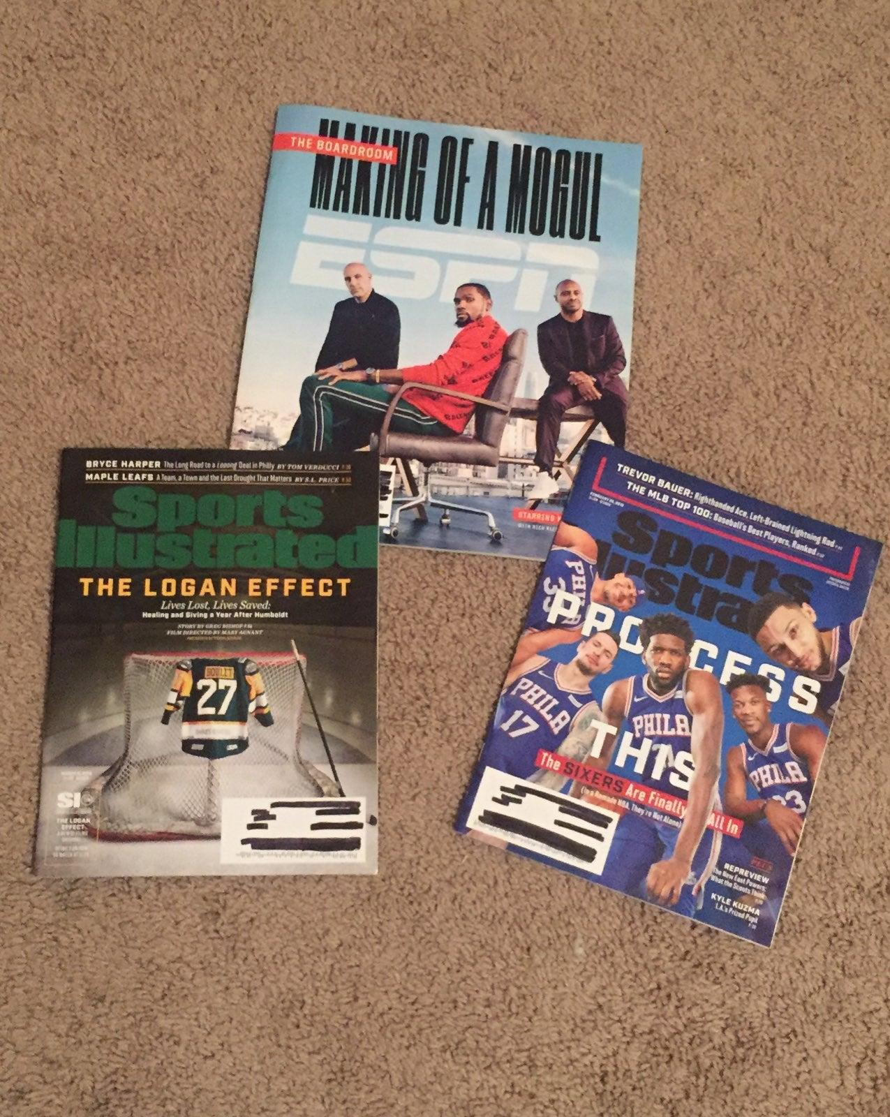 Sports Illustrated ESPN Magazines