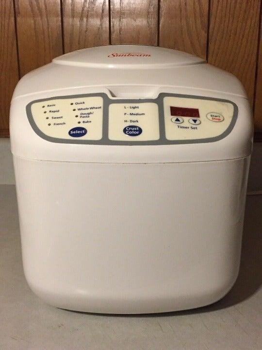 Sunbeam Bread Maker Automatic Machine Pa